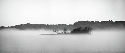 Photograph - Island In The Fog by Todd Aaron