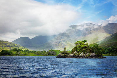 Photograph - Island In The Lakes by Debra and Dave Vanderlaan