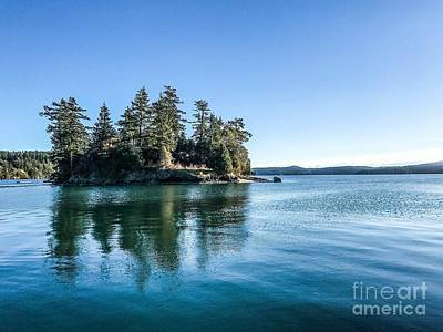 Photograph - Island In West Sound by William Wyckoff