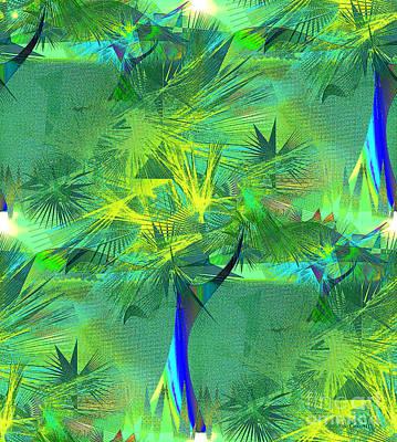 Digital Art - Island Joy by Iris Gelbart