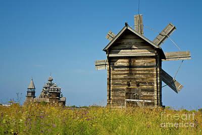 Photograph - Island Kizhi, Wooden Architecture by Irina Afonskaya