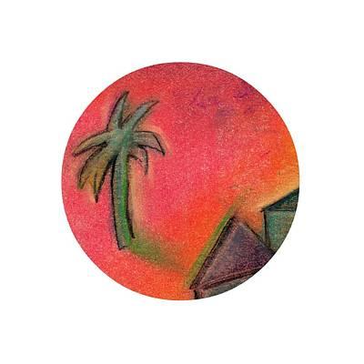 Pastel - Island Life 2 by Valerie Reeves