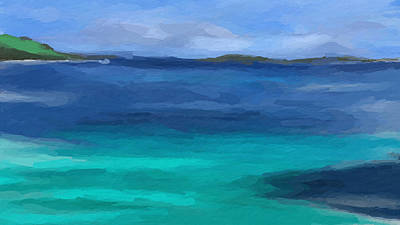 Mixed Media - Island Life by Anthony Fishburne