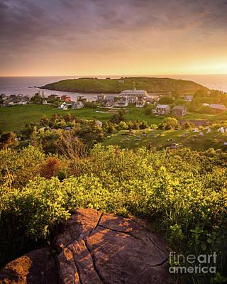 Photograph - Island Light Monhegan by Benjamin Williamson