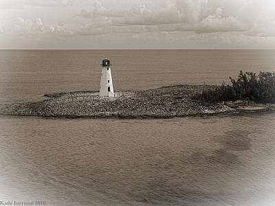 Photograph - Island Lighthouse I by Kathi Isserman