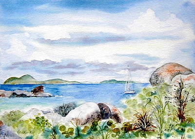 Painting - Island Memories by Diane Kirk