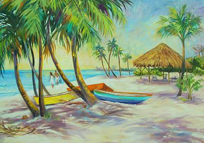 Island Memories Art Print by Dianna  Willman