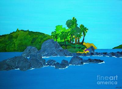 Island Art Print by Michaela Bautz