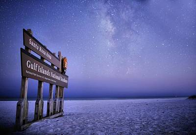 Navarre Beach Photograph - Island Nights by JC Findley