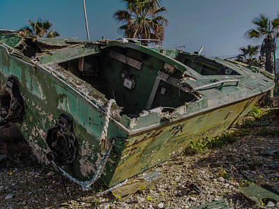 Photograph - Island Of Abandoned Ships 2 by Mark Perelmuter