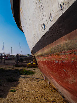 Photograph - Island Of Abandoned Ships 4 by Mark Perelmuter