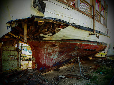 Photograph - Island Of Abandoned Ships 8 by Mark Perelmuter