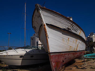 Photograph - Island Of Abandoned Ships by Mark Perelmuter