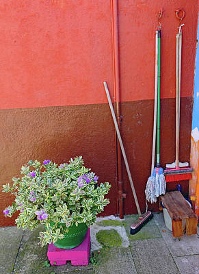 Photograph - Island Of Burano Still Life by Richard Rosenshein