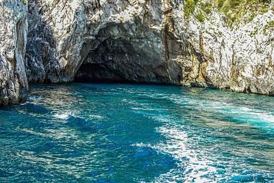 Photograph - Island Of Capri Grotto by Marilyn Burton