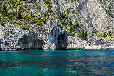 Photograph - Island Of Capri Grottoes by Marilyn Burton