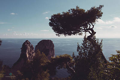 Photograph - Island Of Capri - Italy by Cesare Bargiggia