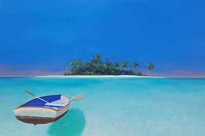 Painting - Island Of Dreams by Karyn Robinson