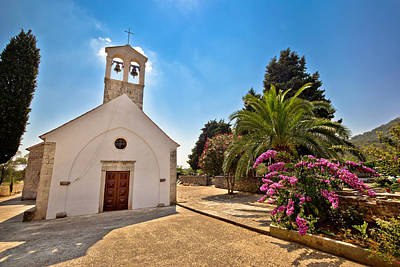 Photograph - Island Of Dugi Otok Mediterranean Chapel by Brch Photography