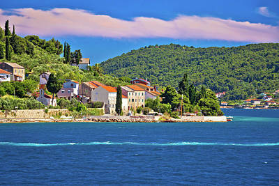 Photograph - Island Of Osljak Archipelago View by Brch Photography
