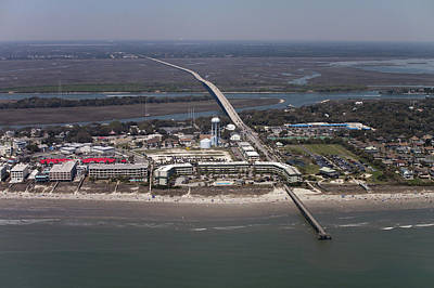 Island Of Palms South Carolina Aerial Original by Dustin K Ryan