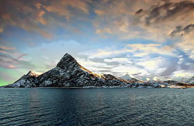 Photograph - Island Of Spitsbergen by Anthony Dezenzio