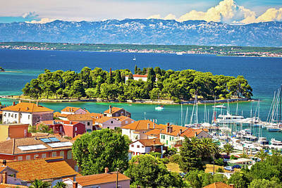 Photograph - Island Of Ugljan Waterfront And Galovac View by Brch Photography