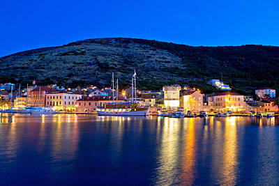 Photograph - Island Of Vis Evening View by Brch Photography
