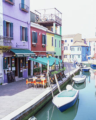 Photograph - Island Off Burano Italy  by John McGraw