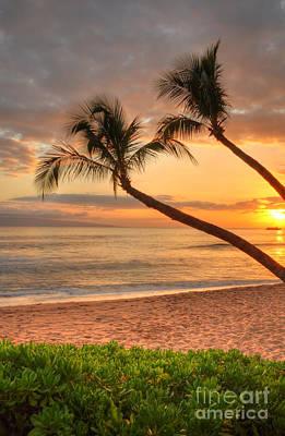 Kaanapali Beach Photograph - Island Palms by Kelly Wade