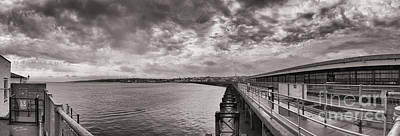 Island Panorama - Ryde Art Print