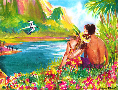 Painting - Island Paradise by Laura Rispoli