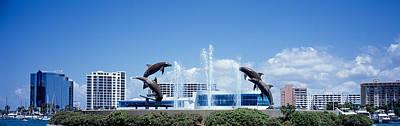 Figural Photograph - Island Park Sarasota Florida Usa by Panoramic Images