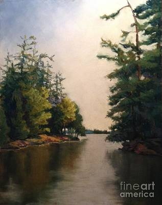 Pastel - Island Passage by Marlene Kingman