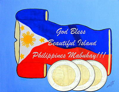 Island Philippines Original by Lorna Maza