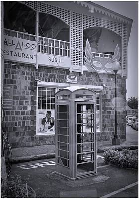 Photograph - Island Phone Booth by Cornelia DeDona