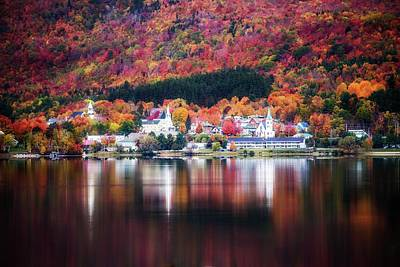 Photograph - Island Pond Vermont by Sherman Perry