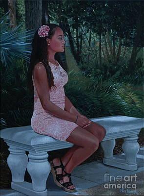 Painting - Island Princess by Michael Nowak