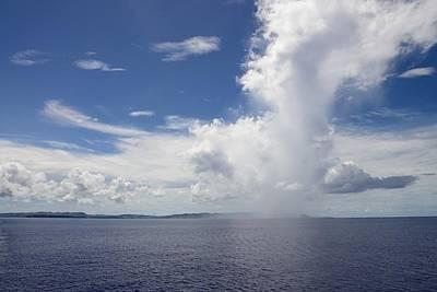 Photograph - Island Rain Cloud by Michael Scott