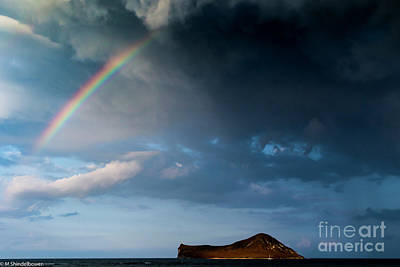 Photograph - Island Rainbow by Mitch Shindelbower