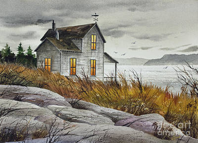 Painting - Island Retreat by James Williamson