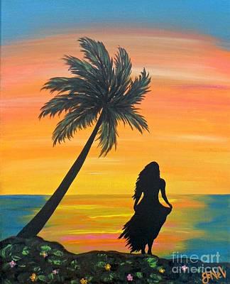 Painting - Island Retreat by JoNeL Art
