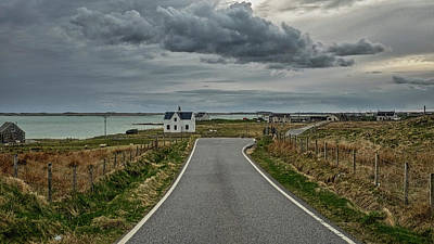 Photograph - Island Road North Uist by Christopher Rees