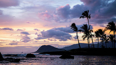 Art Print featuring the photograph Island Silhouettes  by Heather Applegate