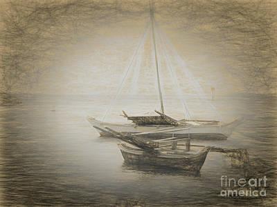 Impressionism Photos - Island Sketches V by Scott Cameron