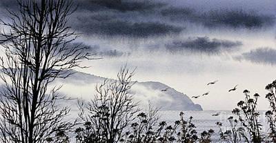 San Juan Painting - Island Solitude by James Williamson