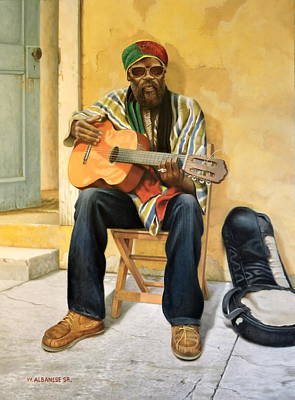 Painting - Caribbean Soul by William Albanese Sr