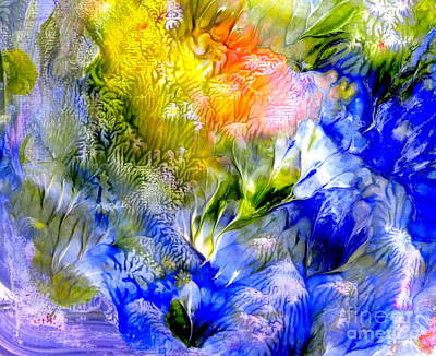 Painting - Island Spring by Fred Wilson
