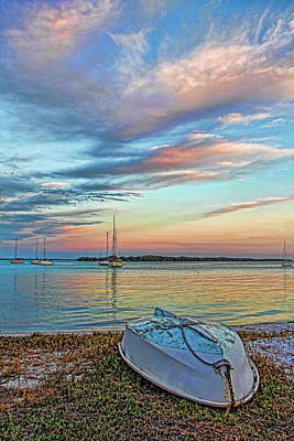 Photograph - Island Sunset by HH Photography of Florida