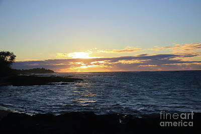 Photograph - Island Sunset by Mary Haber